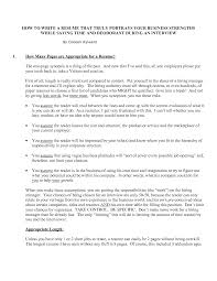 Resume Strengths Free Resume Example And Writing Download