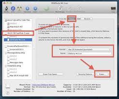 format drive as bootable for mac os x mounn lion