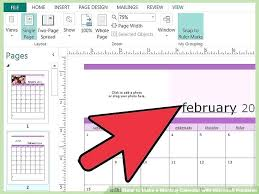 Publisher Calendar Microsoft Template Weekly Chaseevents Co