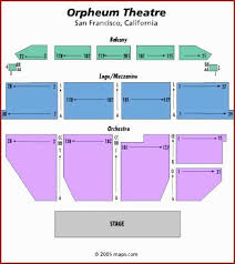 Orpheum Theatre San Francisco Seating Chart Www
