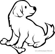 Small Picture Dog Coloring Pages For Kids ngbasiccom
