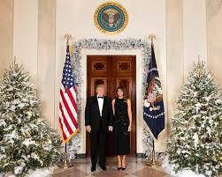 white house photo by andrea hanks president donald j trump and first lady melania trump are seen tuesday december 5 in their official 2017 christmas