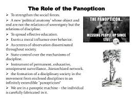 panopticism michel foucault essay