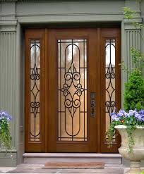 glass front door designs. Inspiring Entrance With Front Door Ideas Wooden Made Applying Black Lever Also Combined Glass Designs D