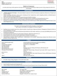 Developer Resume Examples Interesting Android Developer Resume Samples Rajan Pinterest Android