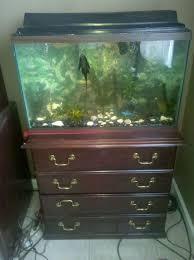 29 Gallon Tank Light 29 Gallon Fish Tank Aquarium With Filter Hood Light On