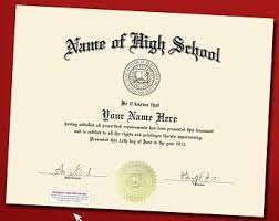 high school diploma name high school diploma etsy