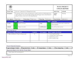 Project Status Report Email Template Loan Agreement Forms Format ...