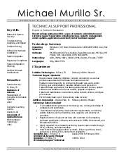 Incredible Decoration Technical Support Resume Sample Resume For