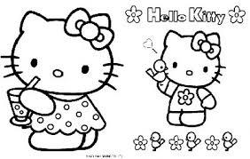 I Disegni Da Colorare Di Hello Kitty