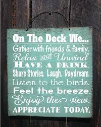 deck rules sign patio decor by outdoor signs on outdoor beachy wall art with outdoor beach signs and decor outdoor designs