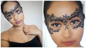 lace masquerade mask diy makeup