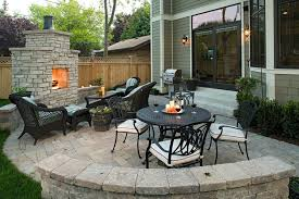 patio furniture images Patio Traditional with brick paving glass doors