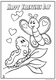 Small Picture Happy Valentines Day Coloring Pages Archives gobel coloring page