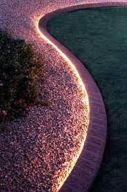 outdoor led garden string lights. use rope lighting to line your garden | 51 budget backyard diys that are borderline genius · lightingoutdoor led outdoor string lights