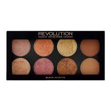 makeup revolution ultra palette golden sugar 2 blush bronze highlight