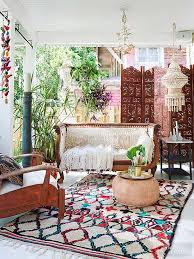 Moroccan-Inspired Porch