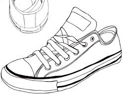 converse shoes black and white clipart. pin converse clipart hand drawn #4 shoes black and white
