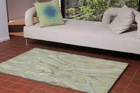 area rugs terrill hand tufted blue indoor outdoor area rug
