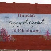 Duncan, OK - Crapemyrtle Capital of Oklahoma