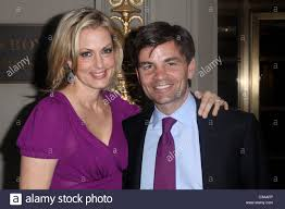 Alexandra Wentworth Alexandra Wentworth George Stephanopoulos In Stock Photos