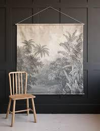 Wall Chart Jungle Extra Large Jungle Print Wall Chart In 2019 Wall Prints