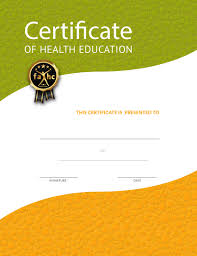 Class Completion Certificates Nutritioneducationstore Com