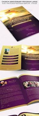 Souvenir Booklet Template Download How To Make A Church Brochure 3 Anniversary Booklet Templates