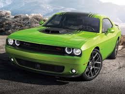 lime green sport car