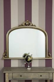 antique over mantle wall mirror