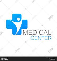 Medical Center Logo Design Medical Logo Medical Vector Photo Free Trial Bigstock