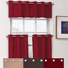 Grommet Kitchen Curtains
