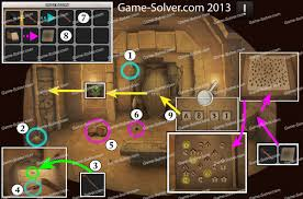 Doors and Rooms 6-6 - Game Solver
