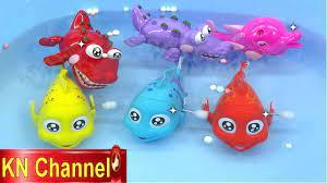 Đồ chơi trẻ em Bé Na Câu Cá tập 9 Cá Hề & Cá Sấu vui nhộn Kỹ năng sống  Fishing toy playset Kids toys - YouTube