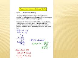 SOLVING PROBLEMS INVOLVING DISCOUNTS AT SALES AND SALES TAX. - ppt ...