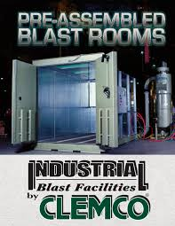 Clemco Industries Blast Cabinets Pre Assembled Blast Room Clemco Industries Pdf Catalogue