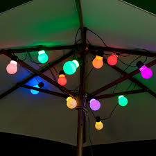 Colour Changing Solar Garden Lights Perfect For A Summer Evening Bbq Festoon Lights 12 Colour