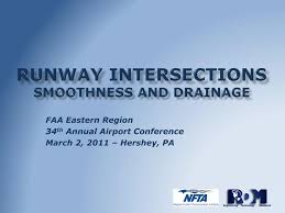 Runway Design Ppt Ppt Runway Intersections Smoothness And Drainage