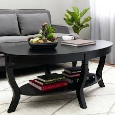 hollow distressed black coffee table small oval tablecloth