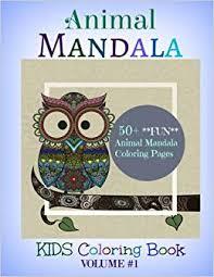 Animal Mandala 50 Fun Animal Mandala Coloring Pages Kids Coloring