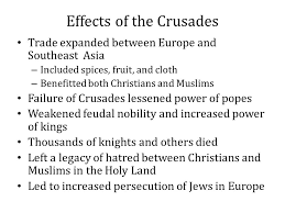 church reform and the crusades ppt video online  effects of the crusades