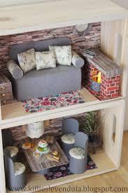 Kifli s levendula: Cheap doll furniture from reuse things
