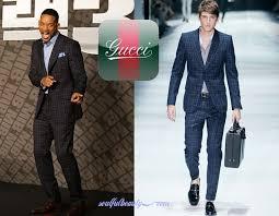gucci for men. celeb-style-will-smith-in-gucci-ss-2012- gucci for men