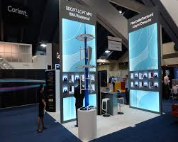 Booth Design Group Inc Display Stand For Hj3 During Its Participation In Ofc At Usa