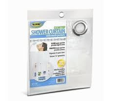 best clear shower curtain liner hammacher schlemmer