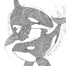 Inspired by nature or completely surreal, these drawings differ from mandalas because they are not concentrated on a. 16 Zentangle Coloring Pages Favecrafts Com