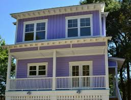 tiny beach house. Building A Tiny Purple Beach House On Tybee Island Feature D