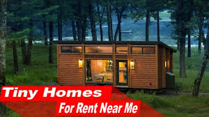 Small Picture WOW Tiny Homes For Rent Near Me YouTube