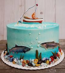 See more ideas about fish cake, cupcake cakes, cake. Adult Birthdays Celebrity Cake Studio