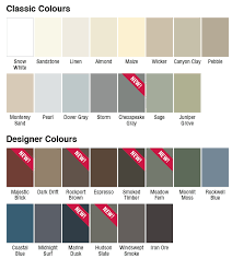 Mitten Siding Color Chart Sequoia Select Vinyl Siding Gentek Building Products